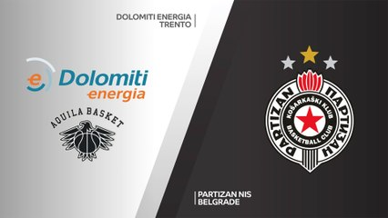 7Days EuroCup Highlights Top 16, Round 2: Trento 58-83 Partizan