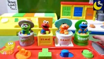 Sesame Street Singing Pop Up Pals and Poppin Pals Pop Up Toys-