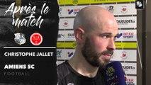 Après le match Amiens SC - Stade de Reims - Christophe Jallet