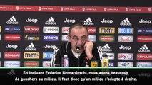 Juventus - Sarri : ''Rabiot a progressé sur le rythme et l'intensité''