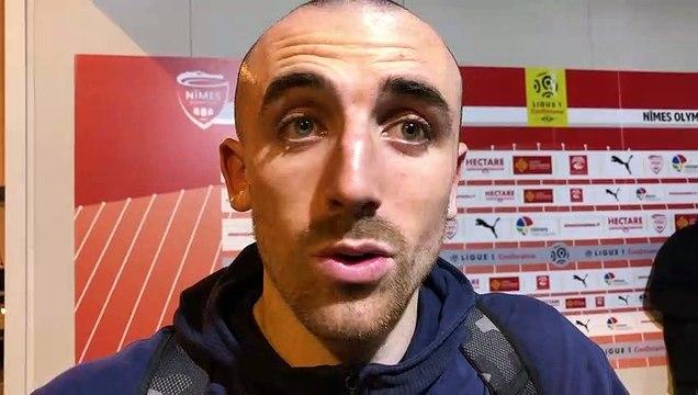 """Football - Nîmes : """"Il ne faut pas lâcher"""" (Bernardoni)"""