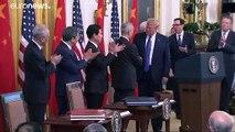 Accord commercial Pékin-Washington