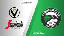 Segafredo Virtus Bologna - Darussafaka Tekfen Istanbul Highlights | 7DAYS EuroCup, T16 Round 2