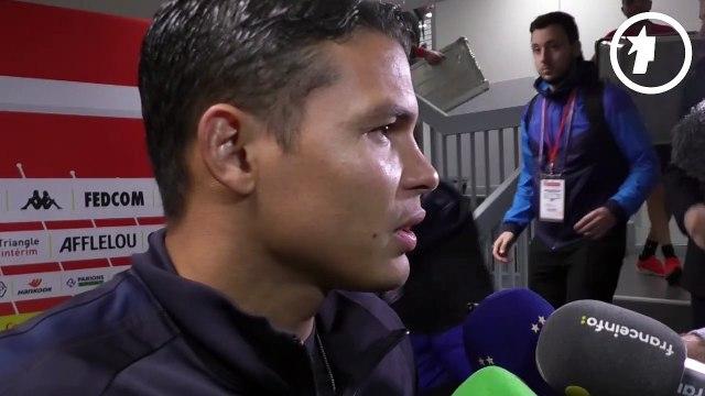 La réaction de Thiago Silva