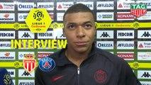 Interview de fin de match : AS Monaco - Paris Saint-Germain (1-4)  - Résumé - (ASM-PARIS) / 2019-20