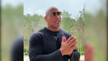 The Rock Dwayne Johnson Announcing New TV Show 'Young Rock' on NBC