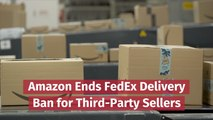 Amazon Allows FedEx Delivery Again