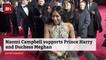 Naomi Campbell Picks Royal Sides