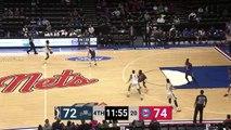JaKeenan Gant Posts 11 points & 11 rebounds vs. Long Island Nets