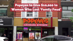 Eve Dubois Gets Treated By Popeyes