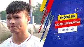 Quang Hải và đồng đội quyết đạt kết quả tốt vì tấm lòng của Thủ tướng và người hâm mô   VFF Channel