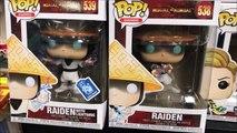 Mortal Kombat Raiden Gamestop Exclusive And Common 2020 version Funko Pop Vinyl Figure