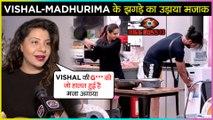 Sambhavna Seth FUNNY Reaction On Madhurima HITTING Vishal With Fry Pan | Bigg Boss 13