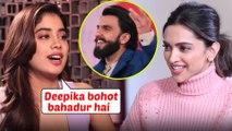 Janhvi Kapoor PRAISES Deepika Padukone's Chhapaak With Ranveer Singh