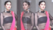 Sapna shares photos in transparent blouse, fans gave shocking reaction । Boldsky