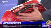 """L'hebdomadaire """"L'Express"""" lance sa nouvelle formule"""
