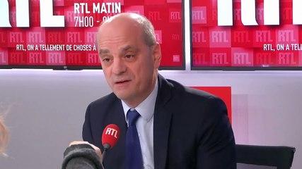 Jean-Michel Blanquer - RTL jeudi 16 janvier 2020