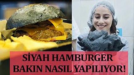 Siyah Hamburger | Yediğim İçtiğim Sizin Olsun
