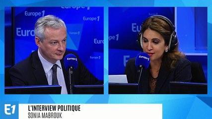 Bruno Le Maire - Europe 1 jeudi 16 janvier 2020