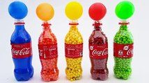 Learn Colors with Pj Masks Wrong Heads, Pj Masks Balls Beads 5 Bottles Surprise Toys