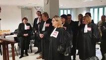 Au tribunal de Vesoul les avocats balancent leur robe