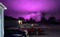 Pourquoi le ciel d'Arizona est-il devenu violet?