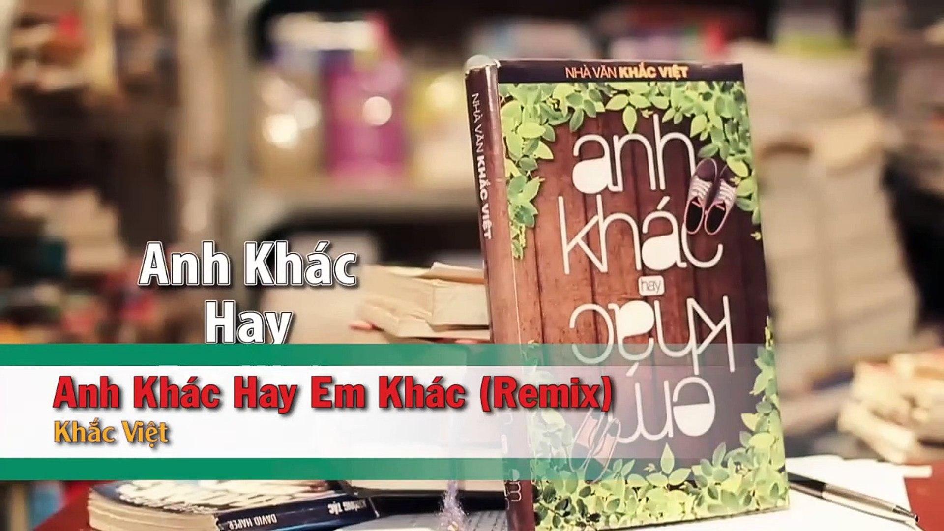 [Karaoke] Anh Khác Hay Em Khác (Remix) - Khắc Việt [Beat]