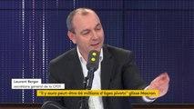 """Âge pivot, grève, livret A... le """"8h30 franceinfo"""" de Laurent Berger"""