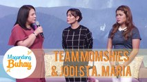 Momshies Karla, Melai and Jodi share where they were when the Taal volcano erupted | Magandang Buhay