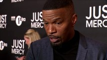 We don't start these movies to win awards Jamie Foxx on 'Just Mercy'