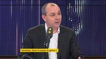 """""""Je ne peux pas appeler à la fin d'une grève à laquelle je n'appelle pas"""", explique Laurent Berger"""