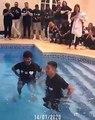 La réaction touchante d'Alisson lors du baptème de Firmino