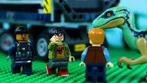 LEGO Jurassic World STOP MOTION LEGO Dinosaur Prison Break - LEGO Jurassic World - By Billy Bricks