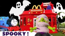 Funny Funlings Spooky McDonalds with Disney Pixar Cars McQueen and The Hulk from Marvel Avengers and Thomas and Friends in this Toy Story Full Episode English