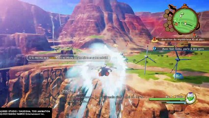 DBZ KAKAROT : découverte de Piccolo, Raditz et de la map (gameplay)