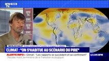 """Contre le réchauffement climatique, """"on en fait pas l'effort de guerre"""" estime Hulot"""