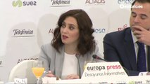 Díaz Ayuso asegura que hará todo lo posible para quitarle el Mobile World Congress a Colau