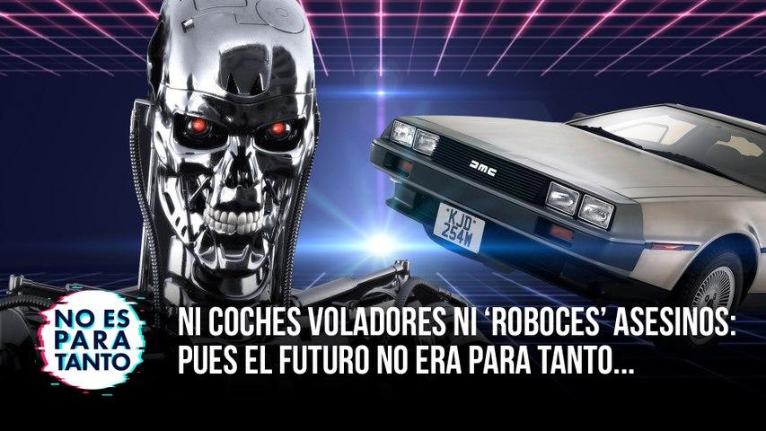 Ni coches voladores ni 'roboces' asesinos: el futuro no era para tanto - NEPT 2x09