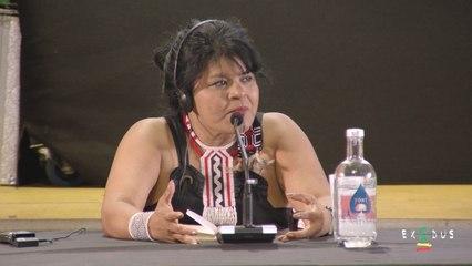 Tierra y dignidad | Sonia Guajajara llena el Foro Social del Rototom Sunsplash 2019