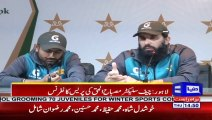 Misbah ul haq Press Conference Today - 16 January 2020