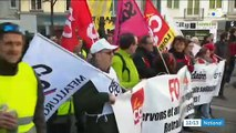 Saint-Etienne, Lille, Grenoble... Découvrez les images de la mobilisation ce matin dans plusieurs villes de France - VIDEO