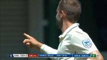 Superb Van der Dussen catch as England lose second wicket