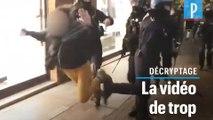 La vidéo de trop ? Comment le croche-pied d'un policier a choqué... jusqu'au gouvernement