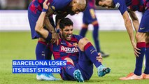 Can FC Barcelona survive without its best striker?
