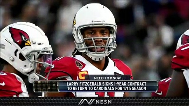 Larry Fitzgerald Will Return To Cardinals For 17th NFL Season