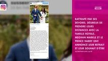 Meghan Markle : ce qui empêche le prince Harry de la rejoindre au Canada