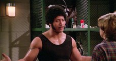 Dwayne Johnson in That 70's Show imitating his dad Rocky Johnson