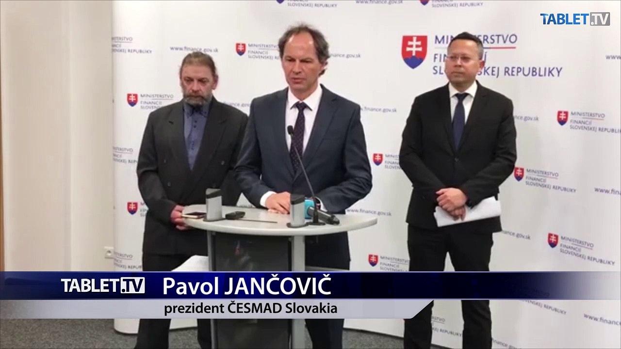 ZÁZNAM: TK Ministerstva financií po rokovaniach s autodopravcami