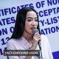 Robredo fact-checks Uson: Why let a fake news peddler get taxpayers' money?