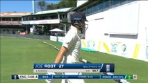 England captain Root bowled by Rabada